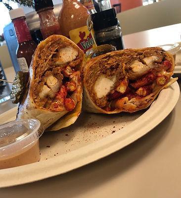 Flamin Hot Chicken Burrito