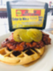 Hot Chicken & Waffle
