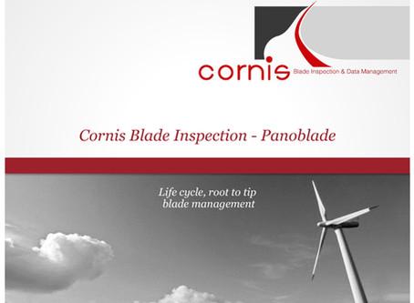 風力発電設備のAIブレード分析サービスPANOBLADE(Cornis SAS社)の点検サービス数が、国内で100基突破!