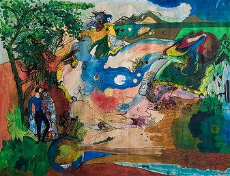 Découverte de la peinture, 1975