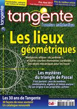 Couverture du magazine Tangente n°176