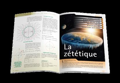 """Mise en pages pour le magazine Tangente - Ouverture du dossier """"La zététique"""""""