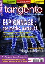 Couverture du magazine Tangente n°180