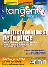 Couverture du magazine Tangente n°171