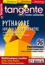 Couverture du magazine Tangente n°172