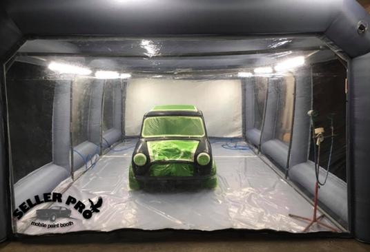 cabine de peinture automobile