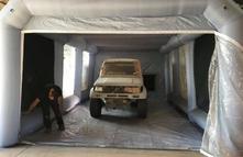 petite cabine de peinture