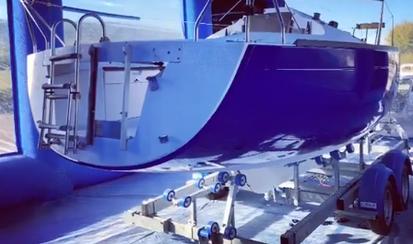 cabine de peinture gonflable bateau