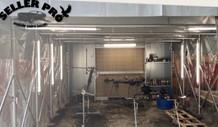 cabine peinture rétractable mobile démontable