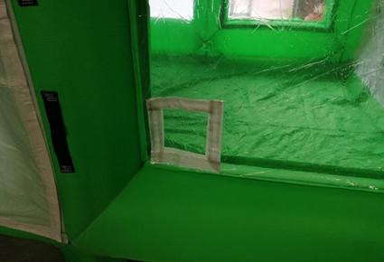 cabine de sablage