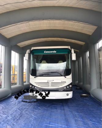 Cabine de peinturePoids lourd et bus