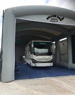 Cabine de peinture Poids lourd et bus