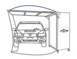 cabine peinture mobile pliable painttrotter