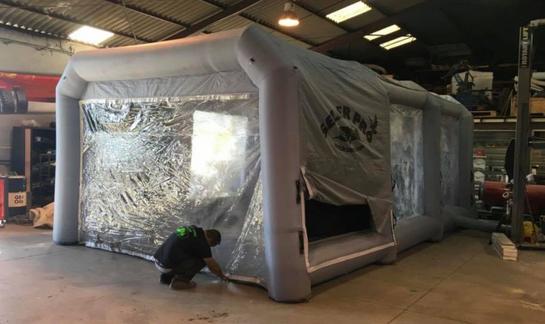 cabine de peinture carrosserie
