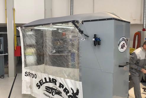cabine peinture mobile pliable ixellroller