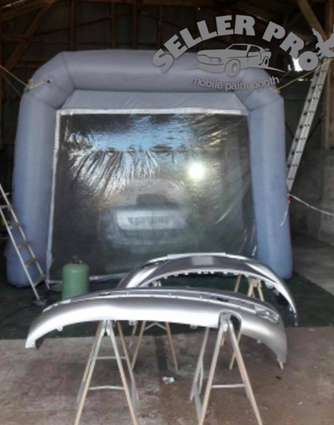 cabine de peinture auto