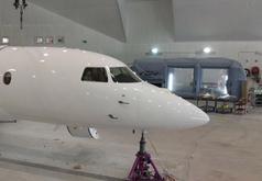 cabine de peinture gonflable avion