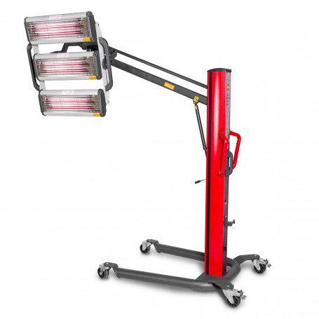 Sécheur de peinture infrarouge professionnel mobile 3300W