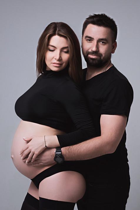 беременная фотосессия, фотограф Сергей Торунов Москва, беременность, студийный фотограф, семья