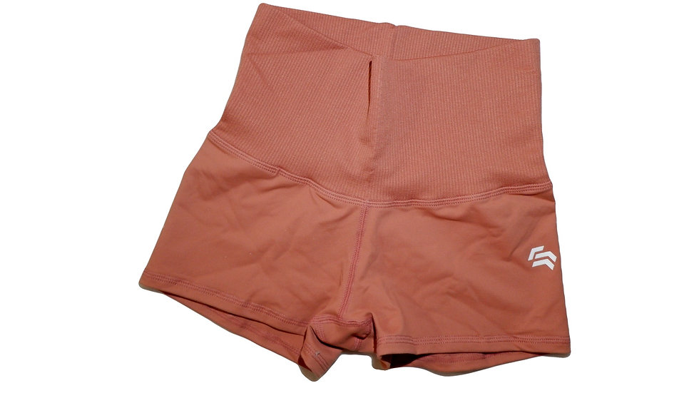 Freedom Contour Shorts - Peach - Flat