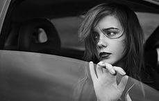 Sad Girl in the Window