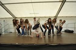 Auftritt der Breakdancer