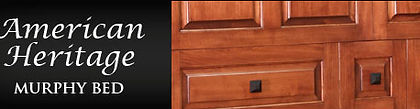 Traditional Murphy Bed - American Heritage