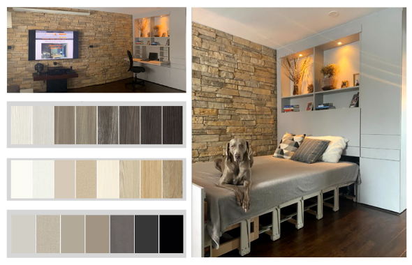 Custom Cabinetry for Your Murphy Bed