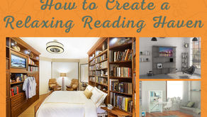How to Create a Relaxing Reading Haven