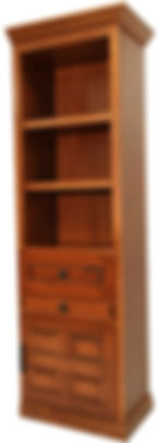 Murphy bed hutch with nightstand