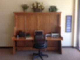 Hidden Desk Bed|Zoom-Room Murphy Desk Bed|Los Angeles
