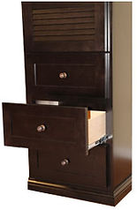 Drawers for Murphy bed side cabinet