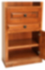 Lower side cabinet of Murphy bed