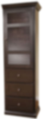 Murphy bed three drawer armoire