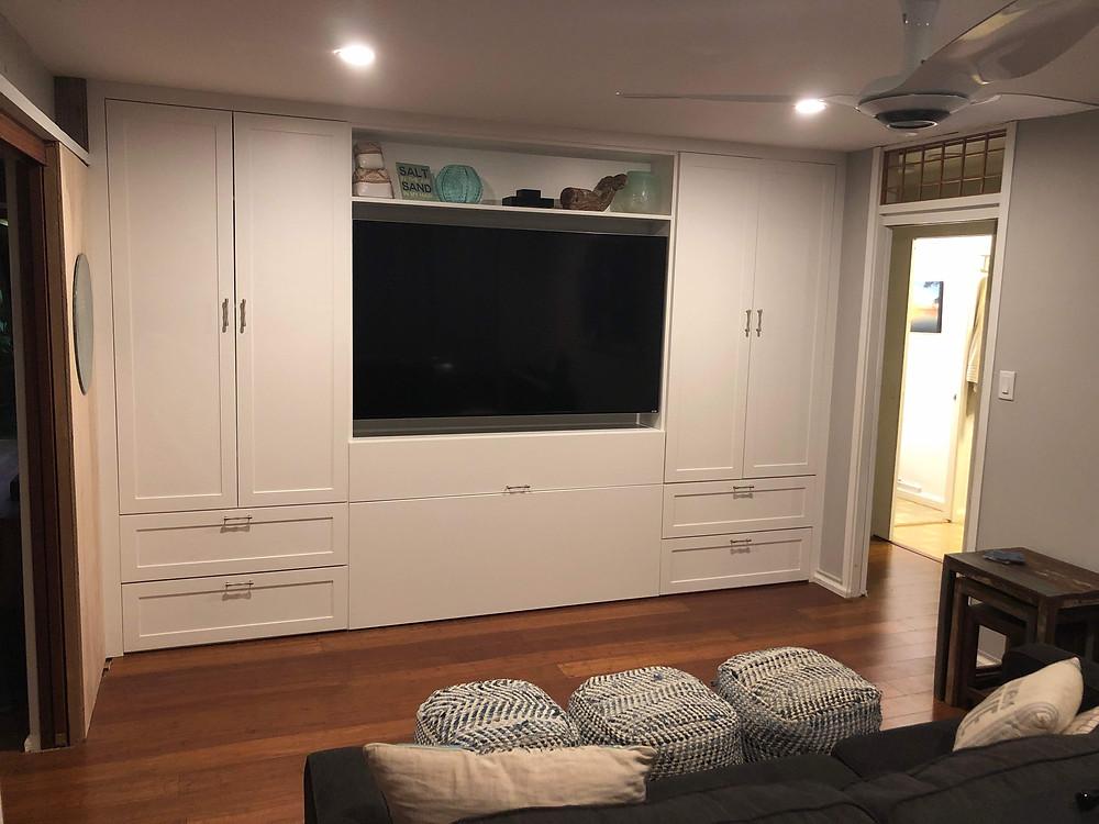 After Picture - Elegant Guest/TV Room