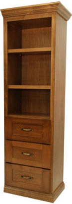 Three drawer hutch for Murphy bed