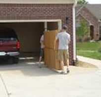 Delivering Murphy bed pannels to garage