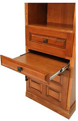 Murphy bed side cabinet nightstand
