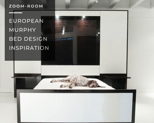 European Design Inspiration: Murphy Bed Edition