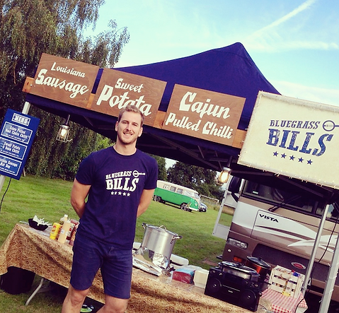 bluegrass bills - hearty southern street food - weddings, parties, corporate events, garden summer parties and more