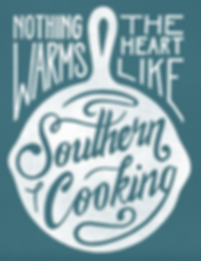 nothing warms the heart like homemade southern cooking, southern cooking, deep south, southern hospitality, retro american poster, american street food, comfort food, southen comfort food, street food soul food, home style cooking, comfort street food