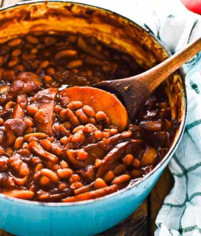 home roasted bbq baked beans