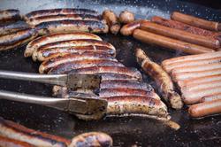 honey glazed pork sausages