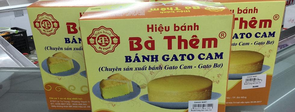 Bánh bông lan cam- Bà Thêm