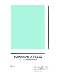 Exposición colectiva - Formato 18 x 24