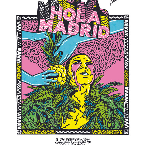 FIEDLER - EXHIBITION MADRID POSTER 2 CMY