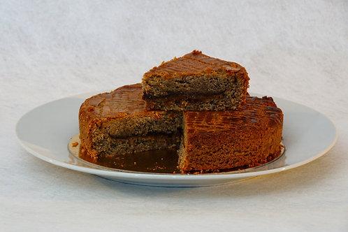 Gâteau breton blé noir framboise