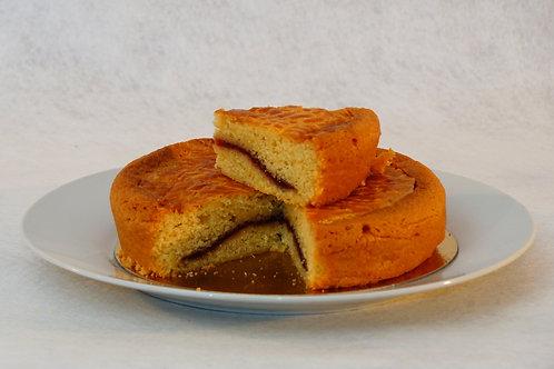 Gâteau breton framboise