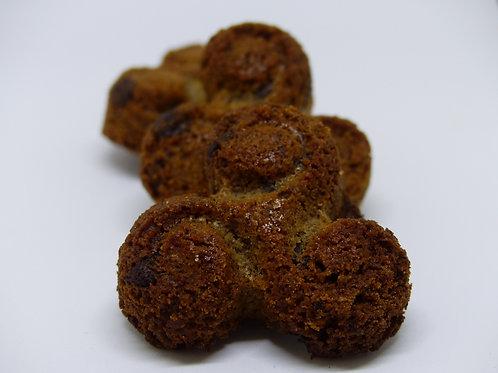 Triskel Breton au blé noir et aux pépites de chocolat