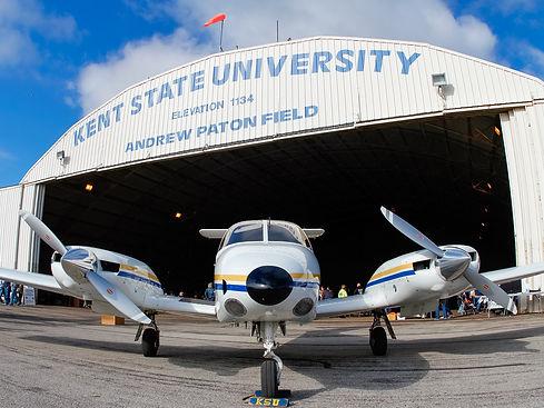 Kent State Piper Aircraft Seminole Hanga